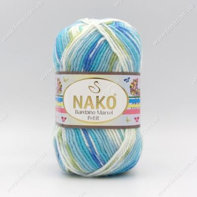 Пряжа Nako Bambino Marvel Petit 81140