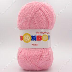 Пряжа Nako Bonbon Kristal нежно-розовый 98221