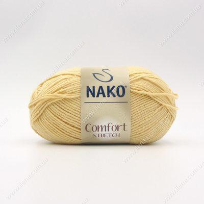 Пряжа Nako Comfort Stretch песочный 5834
