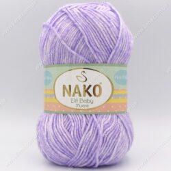 Пряжа Nako Elit Baby Muare светло-сиреневый 31707