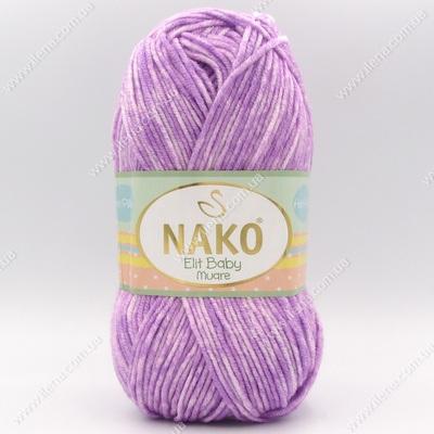 Пряжа Nako Elit Baby Muare сиреневый 31708
