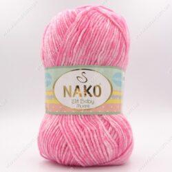 Пряжа Nako Elit Baby Muare розовый 31709