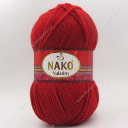 Пряжа Nako Nakolen бордо 1175