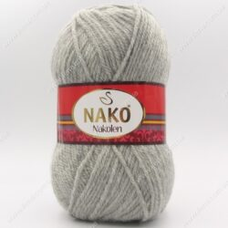 Пряжа Nako Nakolen светло-серый 195