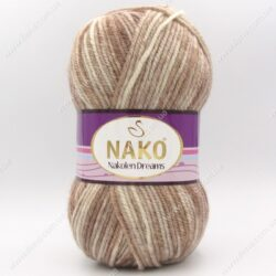 Пряжа Nako Nakolen Dreams бежевый 31446