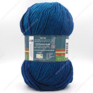Пряжа Nako Ombre голубая бирюза 20318