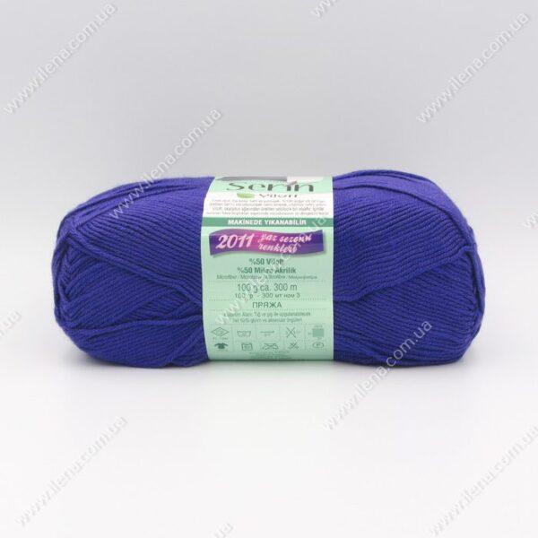 Пряжа Nako Serin Viloft фиолетовый 3196