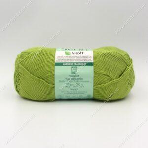 Пряжа Nako Serin Viloft светло-зеленый 3330