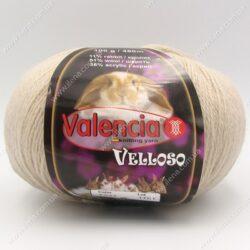 Пряжа Valencia Velloso (кролик) бежевый 537
