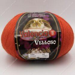 Пряжа Valencia Velloso (кролик) терракотовый 727