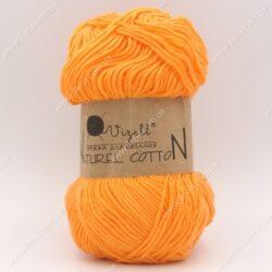 Пряжа Vizell Naturel Cotton оранжевый