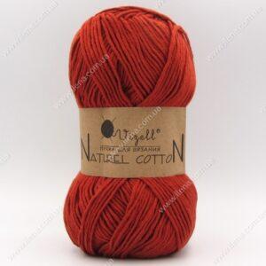 Пряжа Vizell Naturel Cotton терракотовый