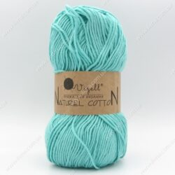 Пряжа Vizell Naturel Cotton бирюза