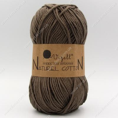 Пряжа Vizell Naturel Cotton мокко