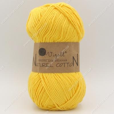 Пряжа Vizell Naturel Cotton желтый