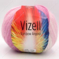 Пряжа Vizell Rainbow Angora 04