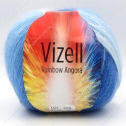 Пряжа Vizell Rainbow Angora 10