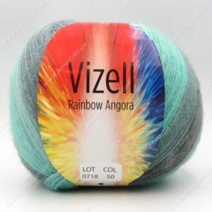Пряжа Vizell Rainbow Angora 50