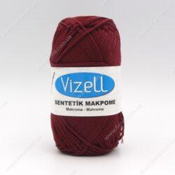 Пряжа Vizell Makrome бордо