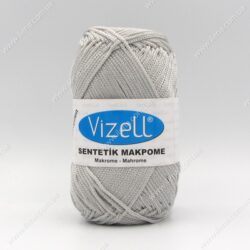 Пряжа Vizell Makrome светло-серый