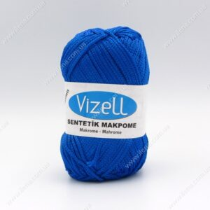Пряжа Vizell Makrome синий