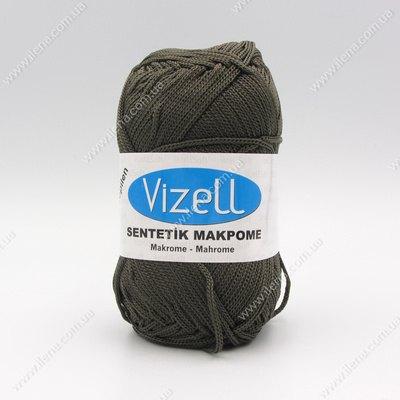 Пряжа Vizell Makrome темно-серый