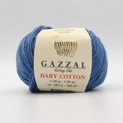 Пряжа Gazzal Baby Cotton джинс 3431