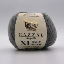 Пряжа Gazzal Baby Wool XL серый 818XL
