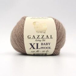 Пряжа Gazzal Baby Wool 835 XL мокко