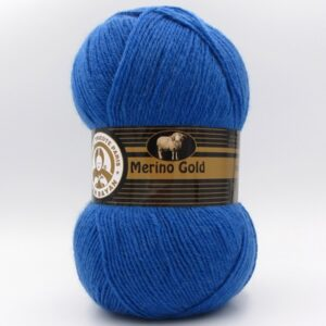 Пряжа Madame Tricote Merino Gold 016 синий