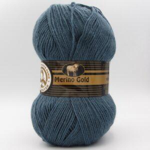 Пряжа Madame Tricote Merino Gold 018 джинс