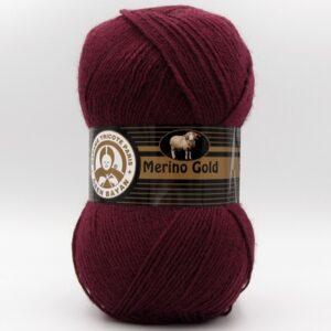 Пряжа Madame Tricote Merino Gold 035 бордо