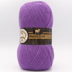 Пряжа Madame Tricote Merino Gold 059 фиолетовый