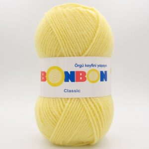 Пряжа Nako Bonbon Classic светло-желтый 98210