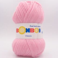 Пряжа Nako Bonbon Classic розовый 98221