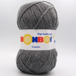 Пряжа Nako Bonbon Classic серый 98242