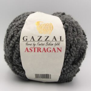 Пряжа Gazzal Astraqan серый