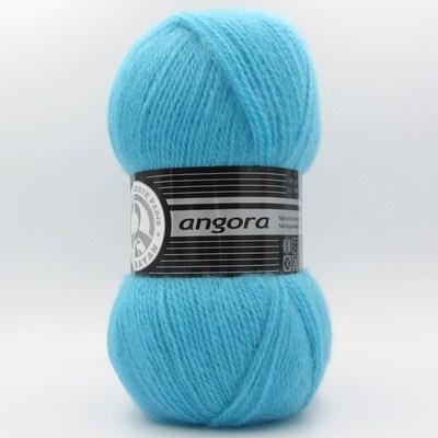 Пряжа Madame Tricote Angora голубая бирюза 023