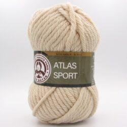 Пряжа Madame Tricote Atlas Sport светло-бежевый 113