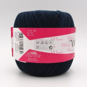 Пряжа Madame Tricote Maxi 4909 темно-синий