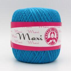 Пряжа Madame Tricote Maxi 5519 голубая бирюза