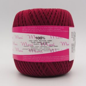 Пряжа Madame Tricote Maxi 5522 бордо