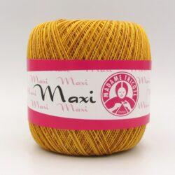 Пряжа Madame Tricote Maxi 5526 желто-горчичный меланж