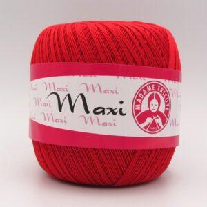 Пряжа Madame Tricote Maxi 6328 красный