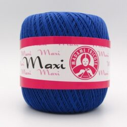 Пряжа Madame Tricote Maxi 6335 синий