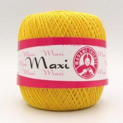 Пряжа Madame Tricote Maxi 6347 желтый