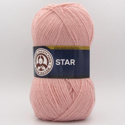 Пряжа Madame Tricote Star 001 пудра