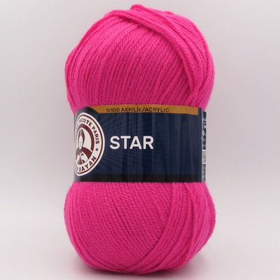 Пряжа Madame Tricote Star 044 малиновый