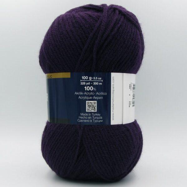 Пряжа Madame Tricote Star 060 фиолетовый