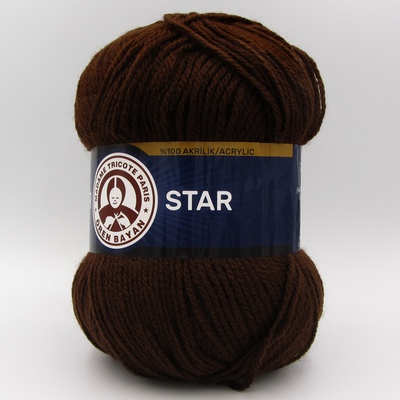 Пряжа Madame Tricote Star 083 шоколад